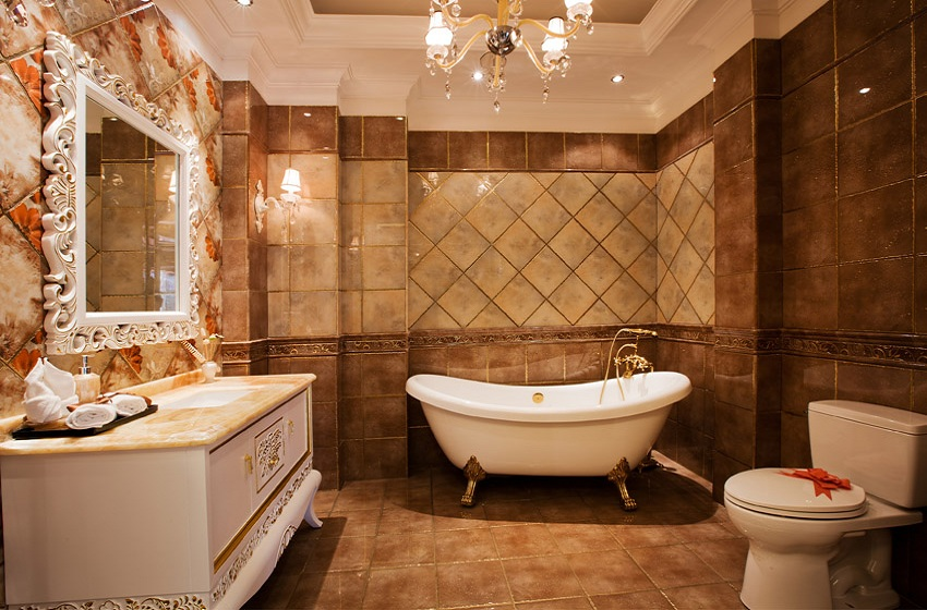 Demonstrate Small Bath Decoration Concepts