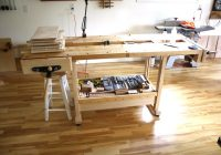 Industrial Wooden Workbench is Indispensable in Your Workplace