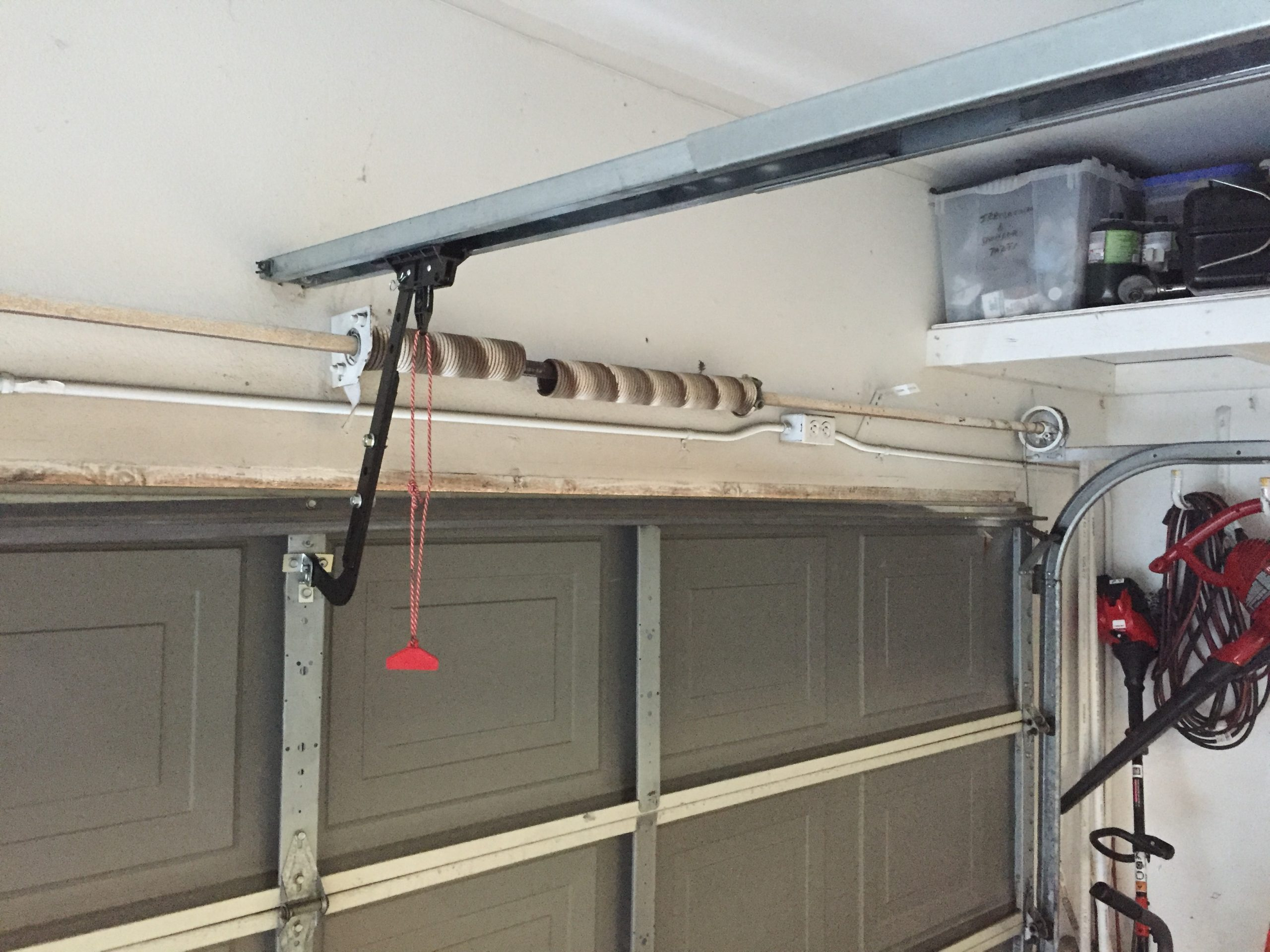garage door spring repair and replacement